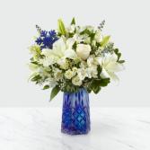 Winter Bliss™ Bouquet Vased Arrangement