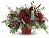 Winter Blooms Centerpiece