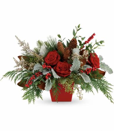 Winter Blooms Centerpiece HWR146A