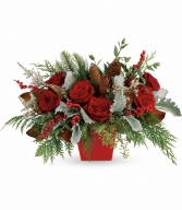 Winter Blooms Centerpiece TWR14-6B