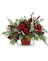 Winter Blooms Holiday Arrangement