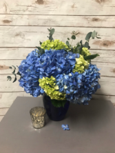 Winter Blues Arrangement