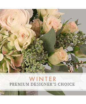 Winter Bouquet Premium Designer's Choice in Macon, GA | PETALS, FLOWERS & MORE