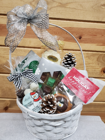 Winter Candy Basket