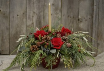 Winter Celebration   Centrepiece Arrangement