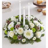 Winter Charm Centerpiece All-Around Floral Arrangement