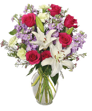WINTER DREAMS Bouquet of Flowers in Worthington, OH | UP-TOWNE FLOWERS & GIFT SHOPPE