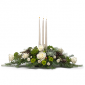 Winter Elegance Centerpiece