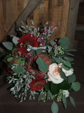 Winter Elegance Hand Bouquet