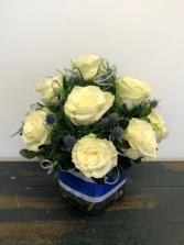 Winter Elegance Rose Arrangement