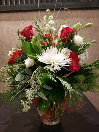 Winter Fling Vase Arrangement