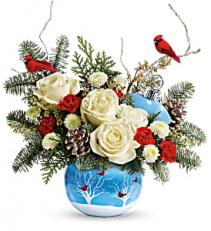Winter Flock Bouquet