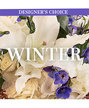 Winter Flowers Designer's Choice in Elyria, OH   PUFFER'S FLORAL SHOPPE, INC.