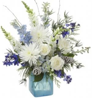 WINTER FROST ARRANGEMENT in Garrett Park, MD | ROCKVILLE FLORIST & GIFT BASKETS