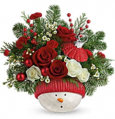 Winter Fun Ornament Arrangement