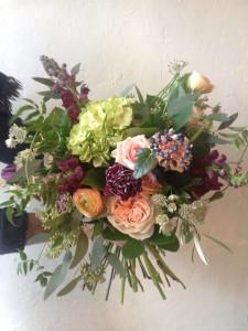 Winter Garden  Handtied Bouquet