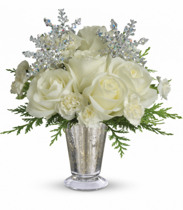 Winter Glow All-Around Floral Arrangement