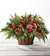 Christmas Greens Basket $55.95, $65.95, $75.95