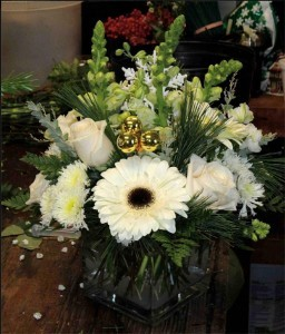 Winter Greetings Floral Arrangement