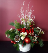Winter Holiday Basket Christmas