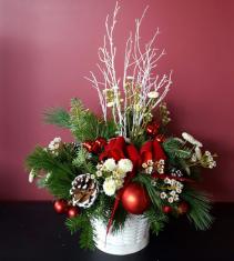 Winter Holiday Basket Christmas