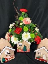 Winter House  2020 Fresh Floral Arrangement
