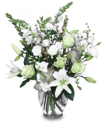 WINTER MAGIC Flower Arrangement