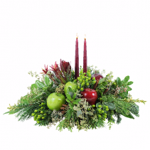 Winter Merlot Centerpiece