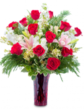 Winter Passion Arrangement