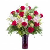 WINTER PASSION Premium Dozen Roses