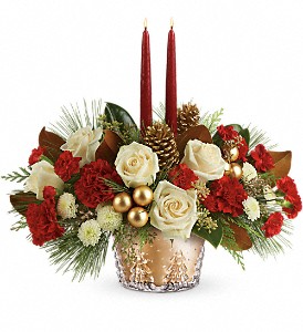 WINTER PINES CENTERPIECE in Wichita Falls, TX | House of Flowers & Gifts
