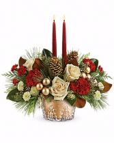Winter Pines Centerpiece CHRISTMAS