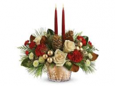 Winter Pines Centerpiece Christmas Centerpiece