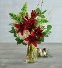 Winter Present Floral Arrangmnet