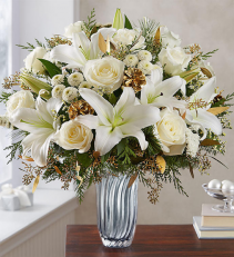 Winter Radience Vase arrangement