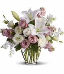 Winter Romance Beautiful and fragrant fresh flowers