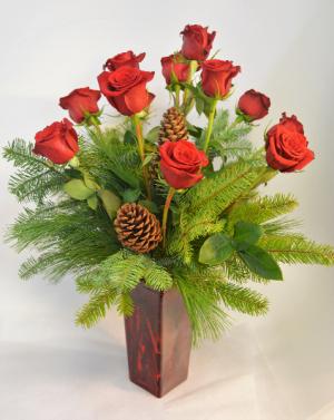 Winter Romance Bouquet in Holland, MI   GLENDA'S LAKEWOOD FLOWERS