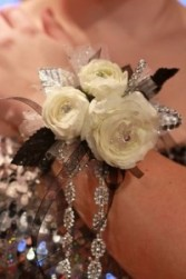 Winter Rose Corsages