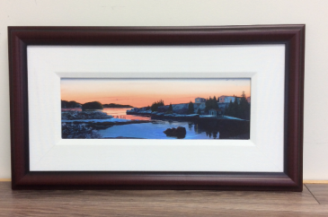 Jean De Baie Dawn Ed Roche Framed Prints