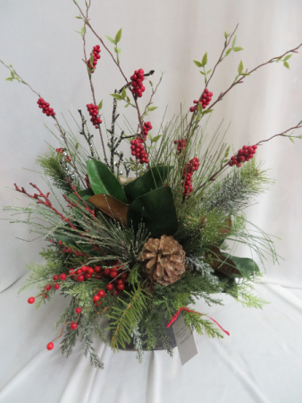 Winter silk 9 silk arrangement in farmville va carters flower shop - Best dried flower arrangements a colorful winter ...