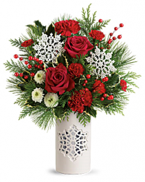 Winter Snowflake Bouquet Christmas