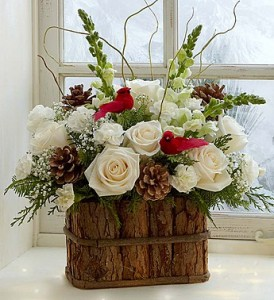 Winter Song Bird   in Oakdale, NY | POSH FLORAL DESIGNS INC.
