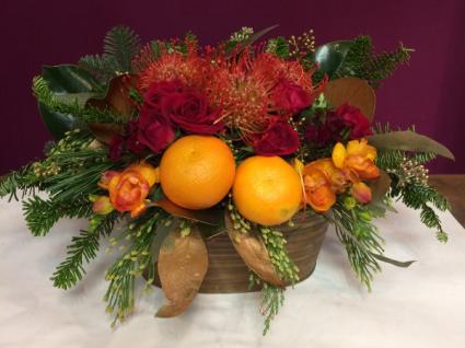 Winter Spice Seasonal Arrangement