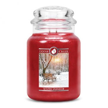 Winter Splendor Large Jar Candle  candle gift