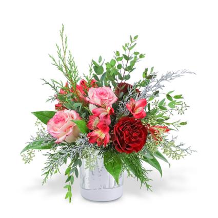 Winter Velvet Flower Arrangement