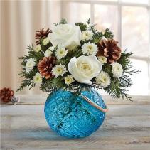 Winter Warmth Holiday Floral Arrangement