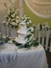 WINTER WEDDING CAKE WEDDING
