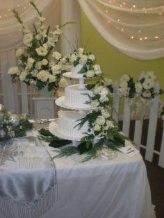 WINTER WEDDING CAKE WEDDING