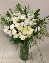 Winter white gatherings  Vase