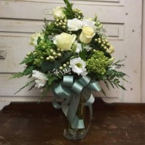 Winter White Sympathy Bouquet